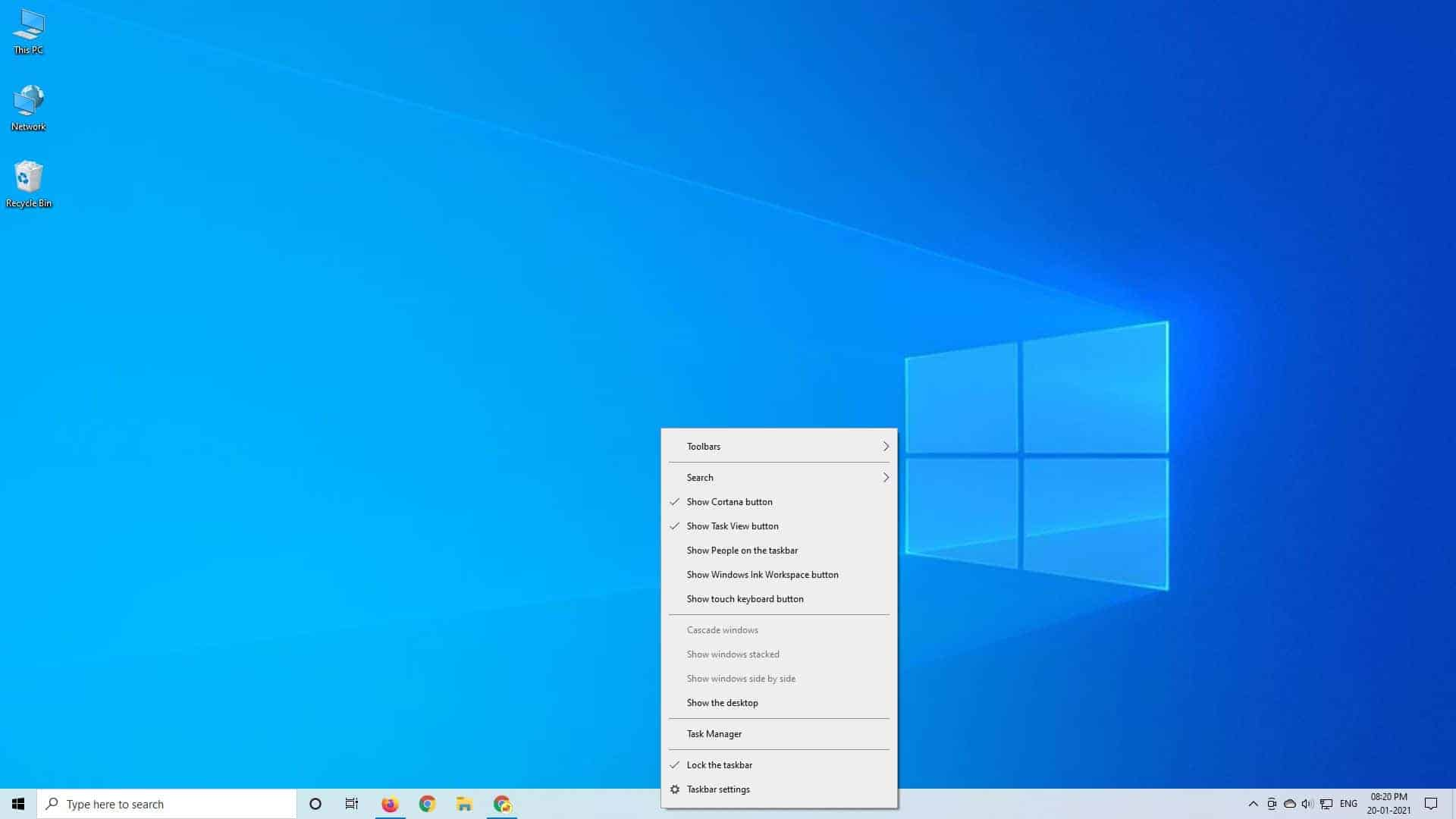 Find Option Call Task Manager