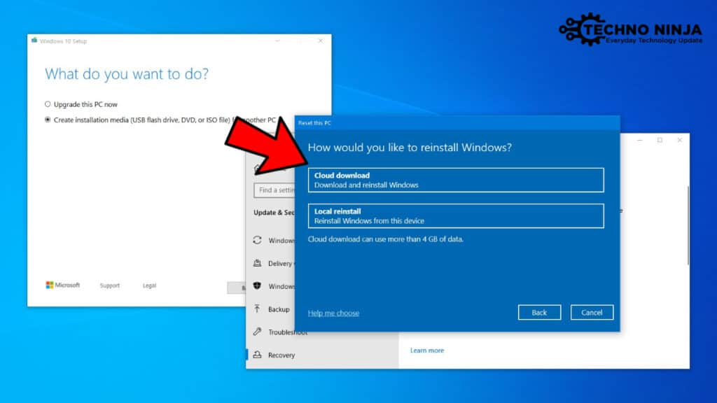 How to Install Windows 10 from the Cloud