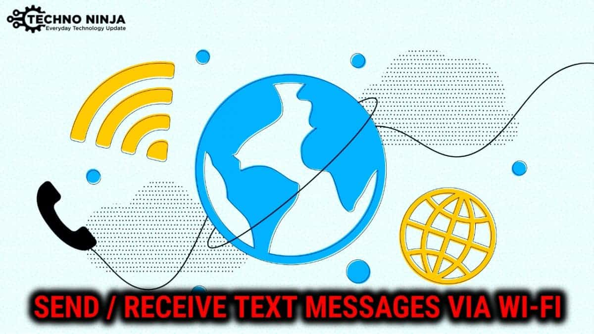 How To Send Android Text over wifi?