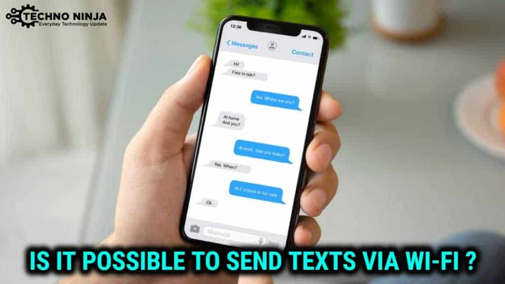 how to send text messages over wifi