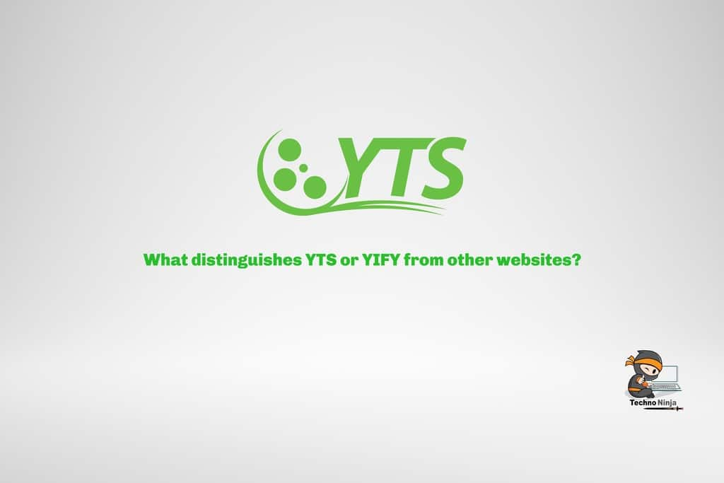 What distinguishes YTS or YIFY from other websites?