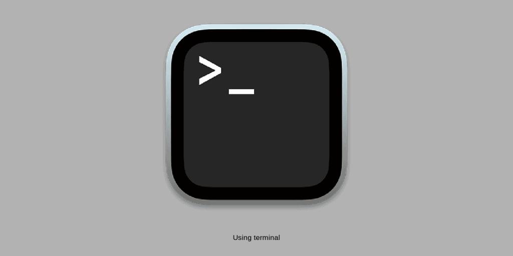 Using terminal